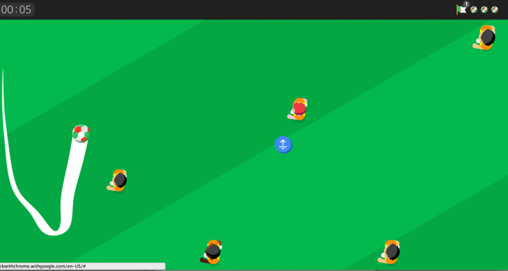Screen Shot 2014 06 19 at 5.37.18 PM 730x390 This Google Chrome experiment brings soccer mini games to your smartphones browser