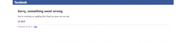 Screenshot 2014 06 19 14.57.17 730x172 Facebook is down across the world right now (Update: Now back)