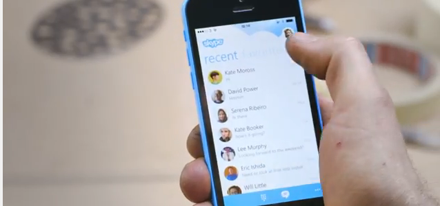 Skype for iPhone update brings picture saving options, plus speed and UI improvements - The Next Web