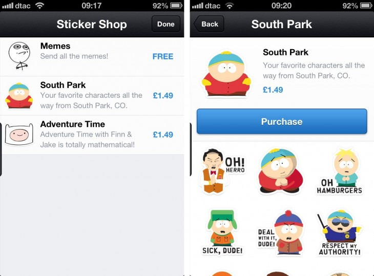 Stickers This time next year, every mobile messaging app will be exactly the same