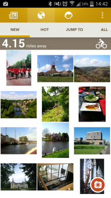 a6 220x391 Trover returns: Expedia founders photo based exploration app launches (again) for Android