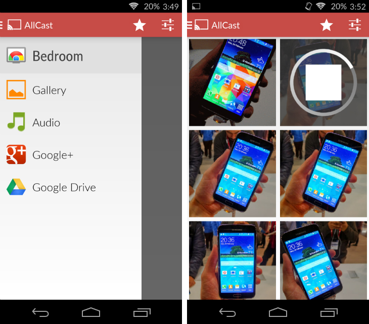 allcast1 32 of the best apps for Googles Chromecast