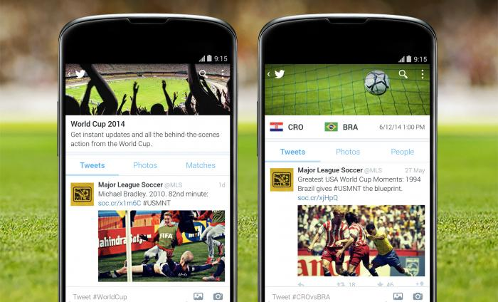 androidtimelines Twitter brings back hashflags just in time for World Cup 2014 kick off