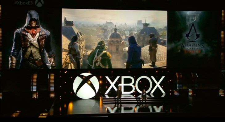 assasincreed 730x397 Live from Microsoft's E3 event: Can the Xbox One triple down on games, games, games?