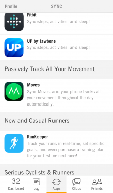 b13 220x375 Nudge aggregates your health and fitness data from multiple apps and trackers