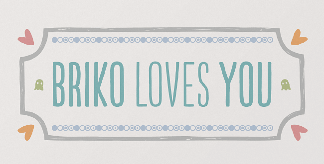 briko Our favorite typefaces from May 2014