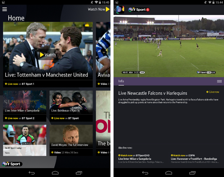btsportdef 32 of the best apps for Googles Chromecast