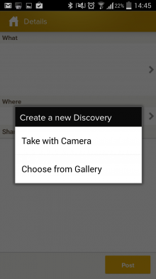 d5 220x391 Trover returns: Expedia founders photo based exploration app launches (again) for Android