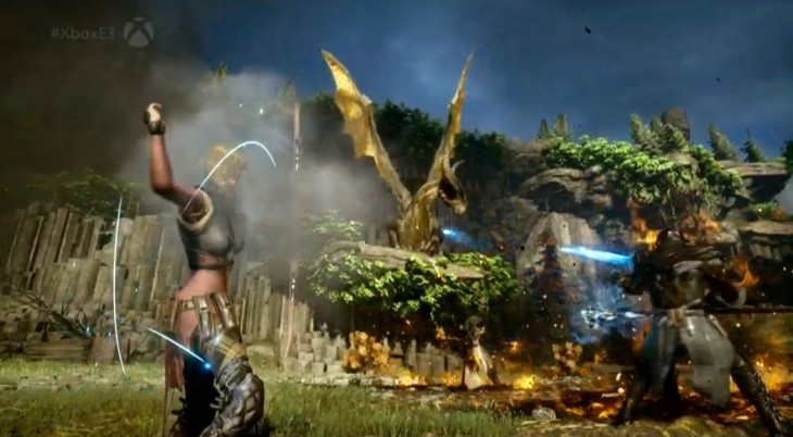 dragonage 730x402 Live from Microsoft's E3 event: Can the Xbox One triple down on games, games, games?