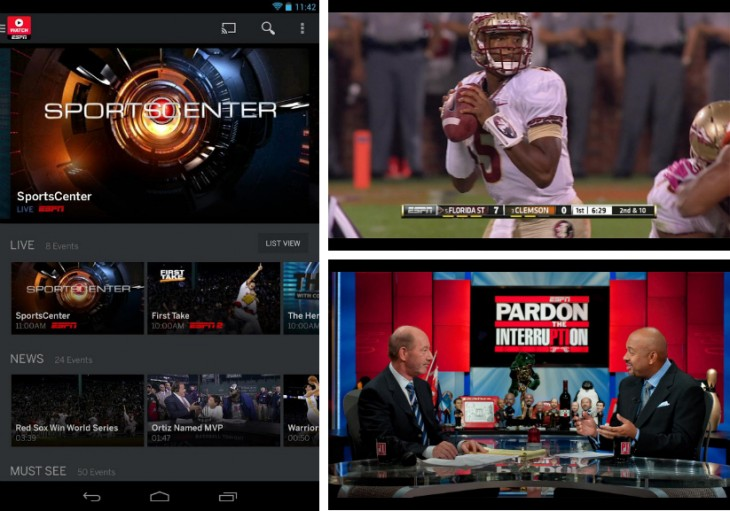 espndef2 730x511 32 of the best apps for Googles Chromecast