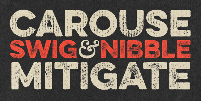 eveleth Our favorite typefaces from May 2014