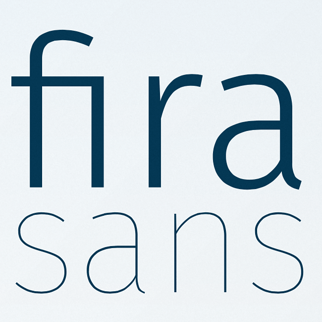 fira sans Our favorite typefaces from May 2014