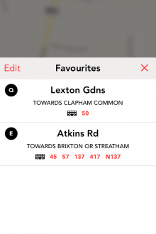 g1 220x330 Jump for iPhone is a slick, real time bus tracker for London dwellers