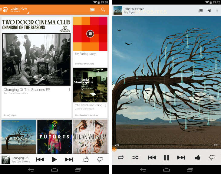gmusic1 32 of the best apps for Googles Chromecast
