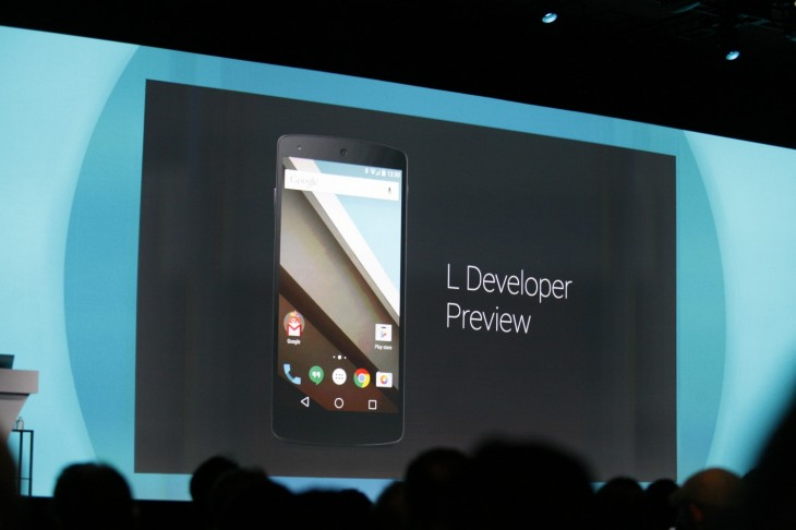 googleio 2014 112 730x486 Google reveals its L Developer Preview, an early glimpse at the next version of Android
