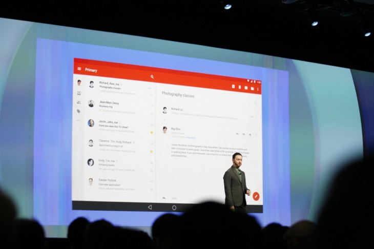 googleio 2014 213 730x486 Google reveals its L Developer Preview, an early glimpse at the next version of Android