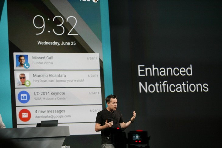 googleio 2014 263 730x486 Google reveals its L Developer Preview, an early glimpse at the next version of Android