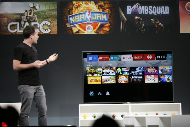 googleio 2014 858 730x486 Google announces Android TV to bring voice input, user experience and content to the living room