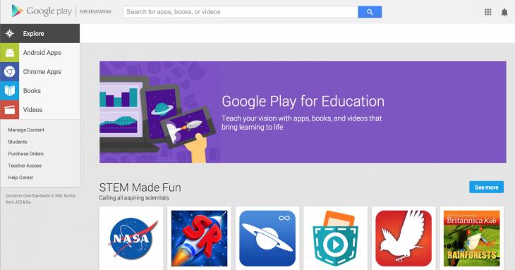 gpfe hp 730x383 Google Play for Education is no longer just for tablets, now available on Chromebooks