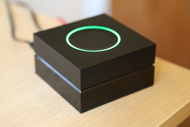 gramofon2 730x486 An early look at the Gramofon, a cheap Wi Fi router that lets you stream Spotify to any speaker