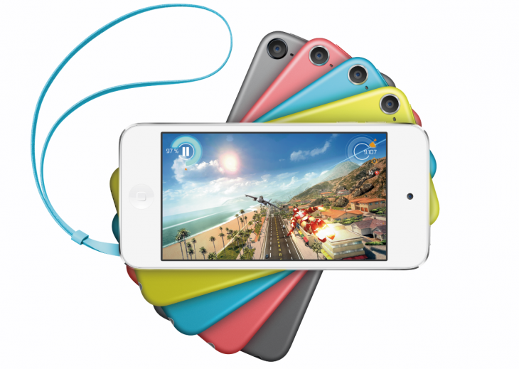 iPodTouch2014 730x519 Apple refreshes iPod Touch lineup with new colors and iSight camera, now starting from $199