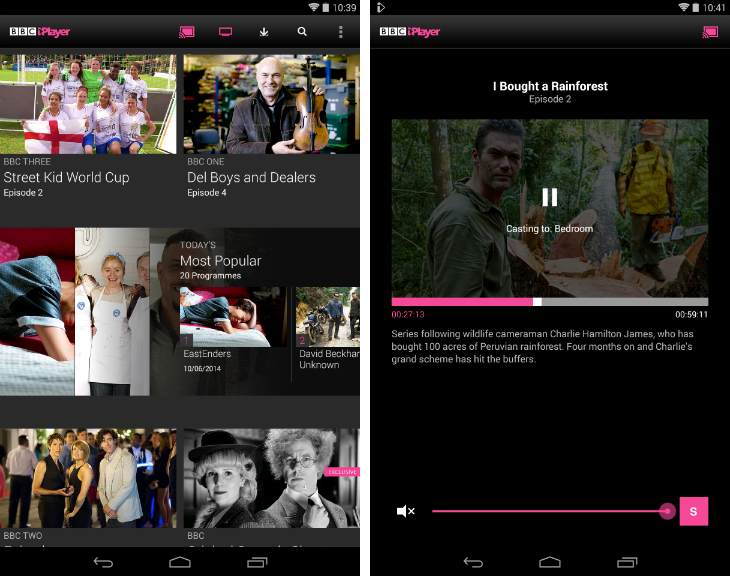iplayer1 32 of the best apps for Googles Chromecast