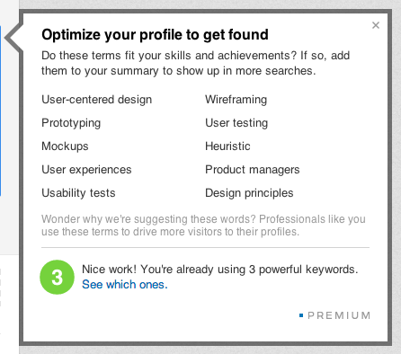 linkedin optimize LinkedIn revamps Premium Accounts to help paid profiles stand out from the crowd, adds $9.99/month subscription