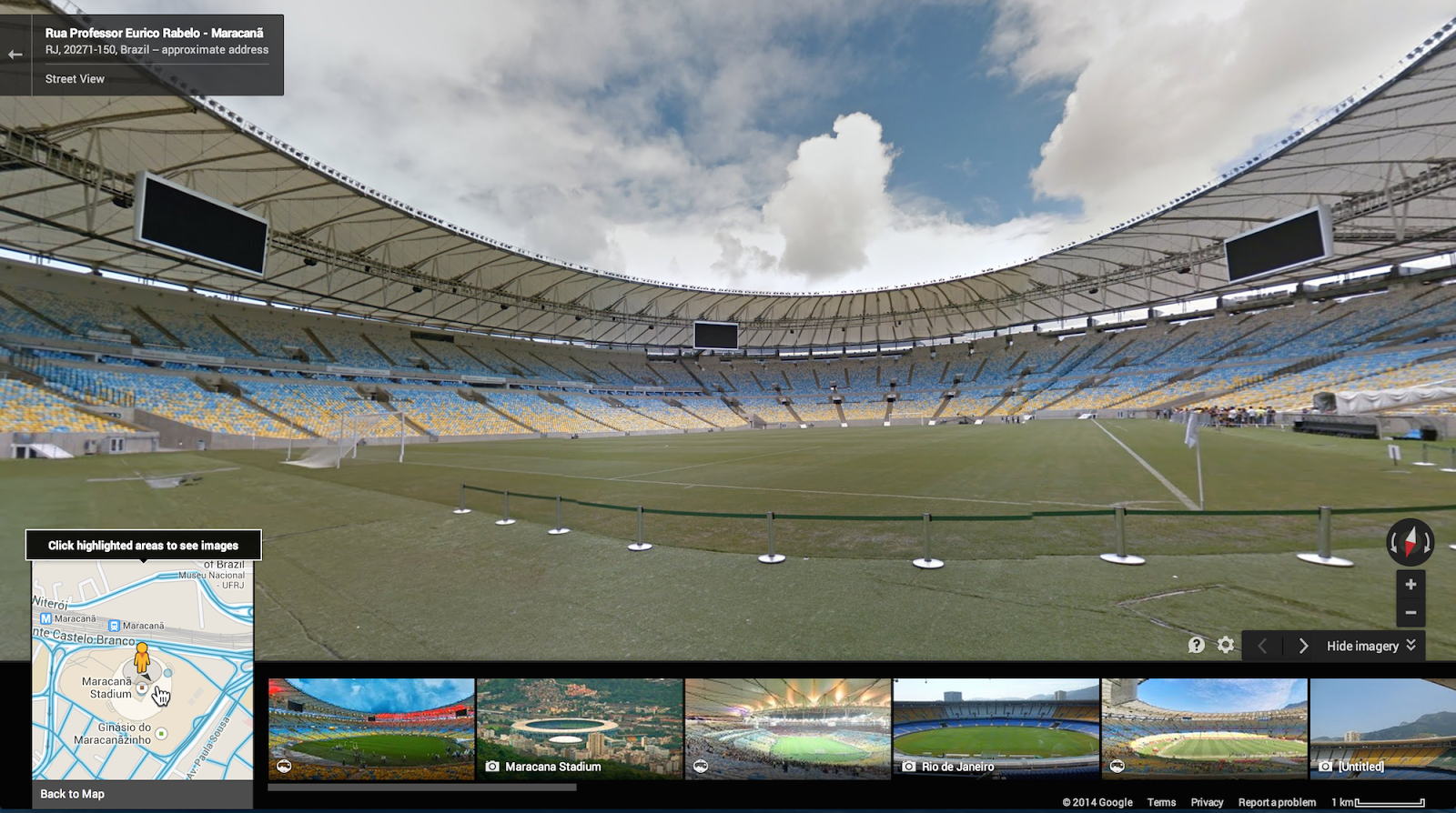 Google Adds World Cup Stadiums to Street View