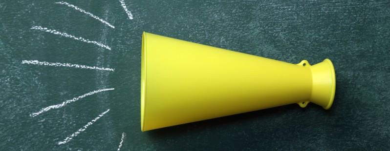 megaphone horn