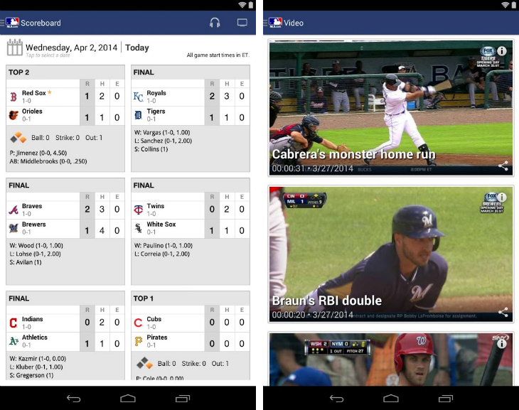 mlbdef 32 of the best apps for Googles Chromecast