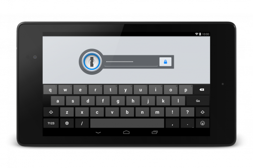 nexus7 lock screen 520x346 In depth with 1Password 4.0 for Android: Has this really useful tool come of age?