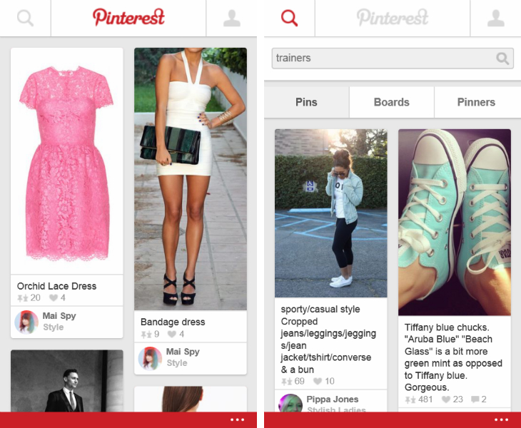 pinterest Pinterest finally has a Windows Phone 8 app