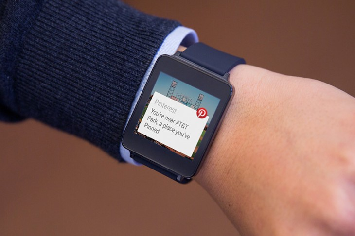 pinterest1 730x486 Here are 6 of the first third party Android Wear apps