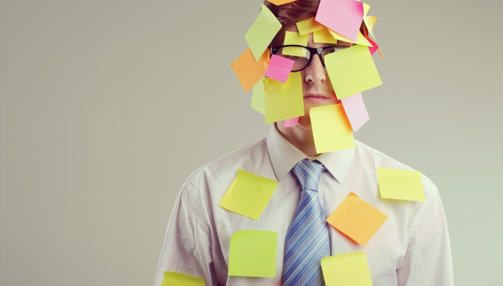 post it stress to do list 730x415 21 of the best B2B growth tactics to test