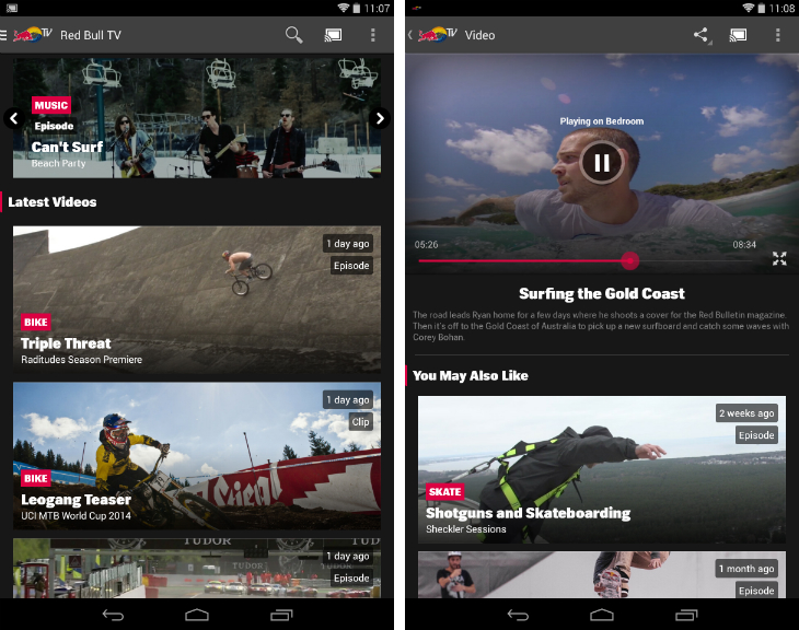 redbull1 32 of the best apps for Googles Chromecast