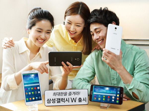 samsung glw 01 Samsungs new Galaxy W is a 7 inch phablet thats available in Korea only