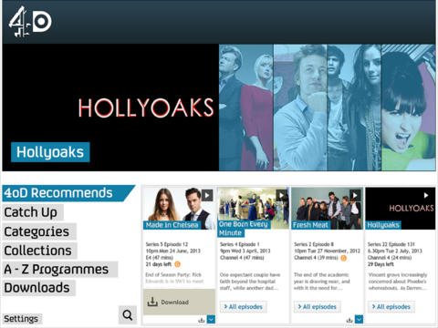 Britains Channel 4 adds 3G and 4G streaming to its 4OD iOS app