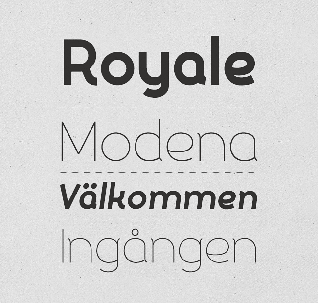 silo Our favorite typefaces from May 2014