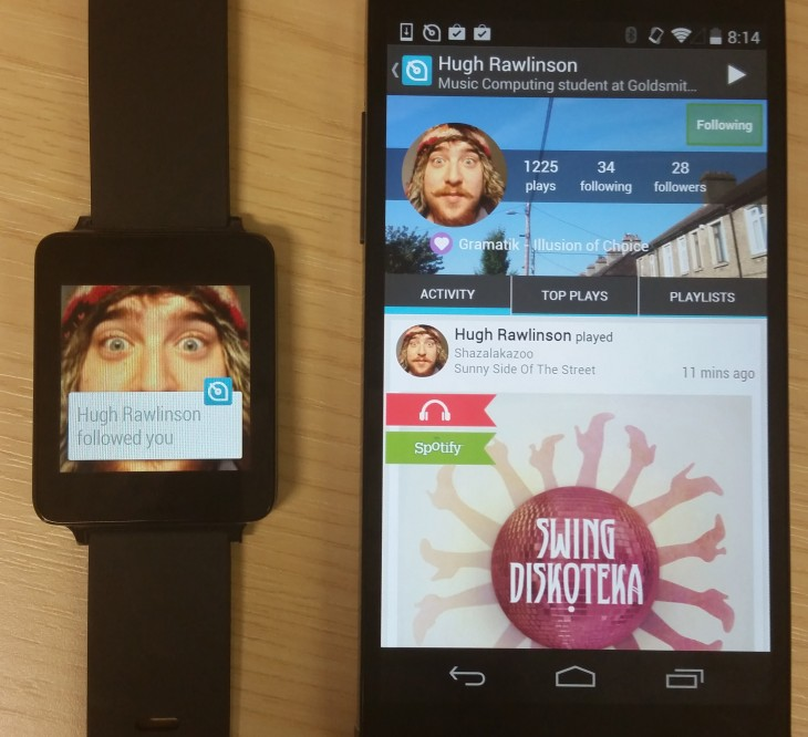 soundwave 3 730x666 Here are 6 of the first third party Android Wear apps