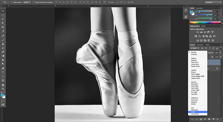 static.squarespace 1 730x400 How to easily colorize a black and white photograph in Photoshop