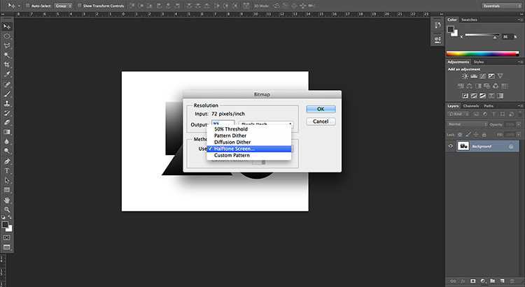 static.squarespace 5 Halftoning 101: How to halftone images in Photoshop