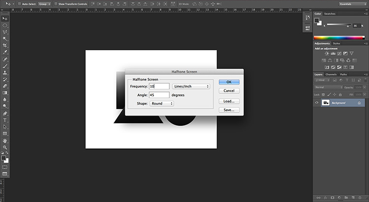 static.squarespace 6 Halftoning 101: How to halftone images in Photoshop