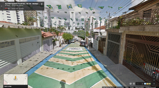 streets 520x289 You can now explore all 12 FIFA World Cup stadiums in Brazil via Google Street View