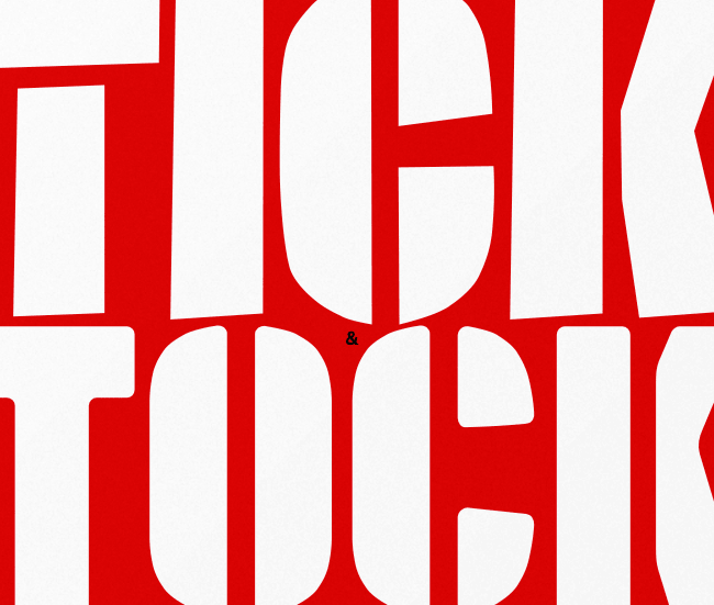 tick tock Our favorite typefaces from May 2014