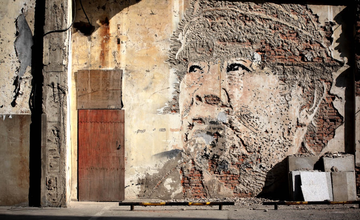 vhils Google launches new project to preserve street art long after the paint has gone