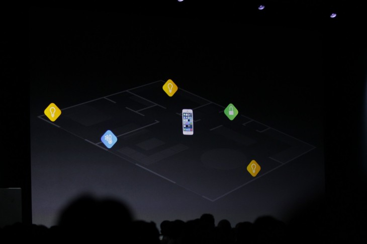 wwdc 2014 1222 730x486 Apple announces HomeKit, an SDK for controlling your home from your iOS device