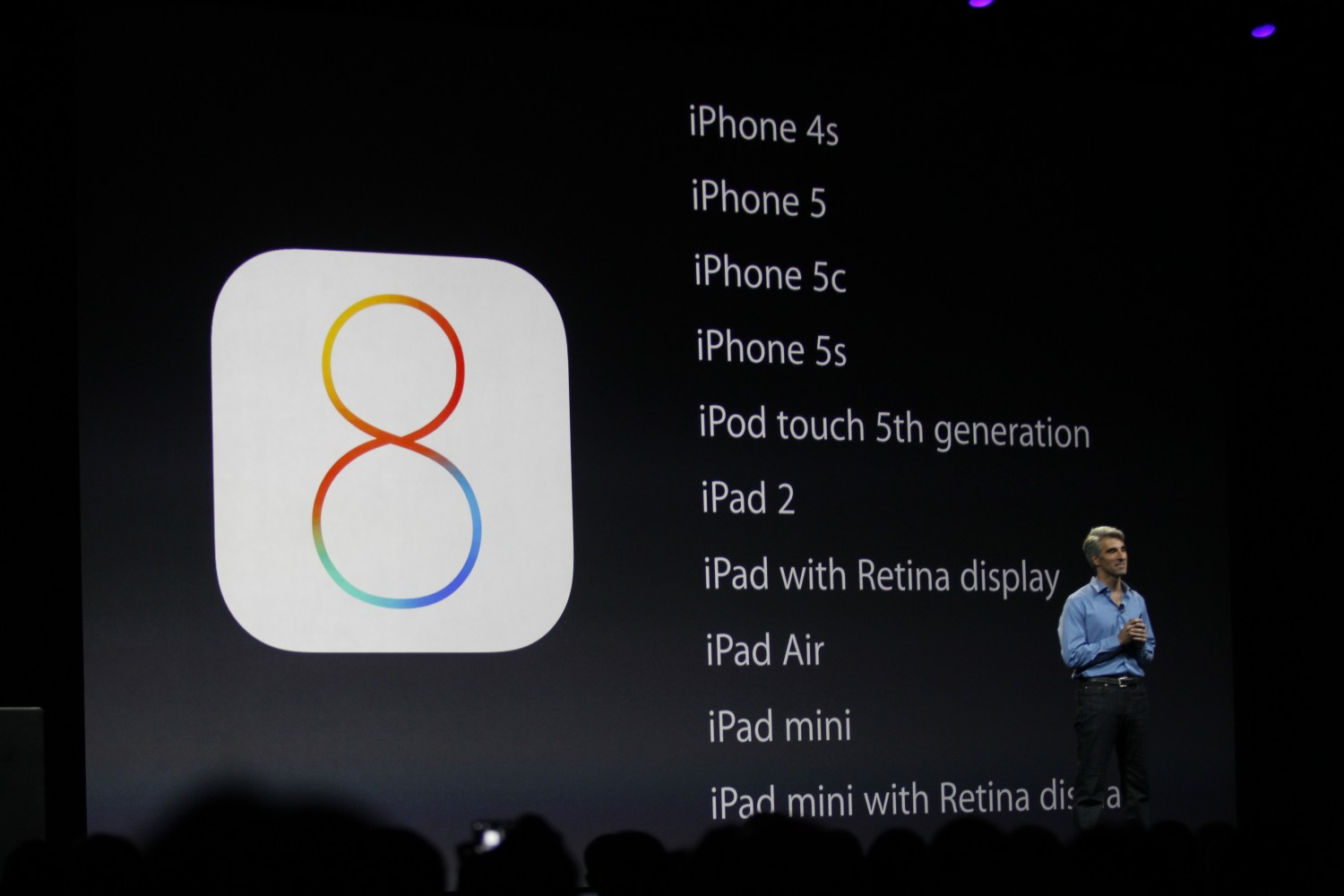 wwdc 2014 1375 Apple announces iOS 8 beta is available today to developers, public release this fall, and no iPhone 4 support