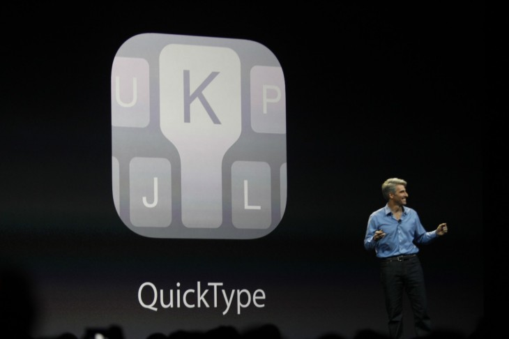 wwdc 2014 736 730x486 Apple announces iOS 8 with interactive notifications, HealthKit and predictive typing
