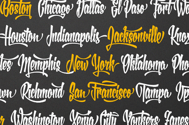 xxii yeahscript Our favorite typefaces from May 2014