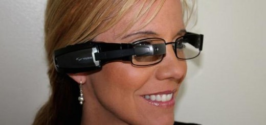 M100 Smart Glasses on Female Photo